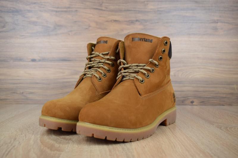 Шикарные женские ботинки timberland classic boot темно рыжие😃(... - Фото 4