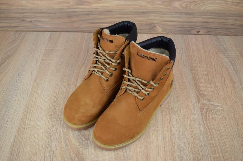 Шикарные женские ботинки timberland classic boot темно рыжие😃(... - Фото 5