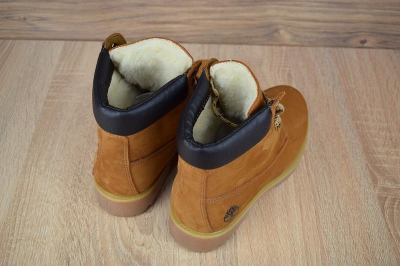 Шикарные женские ботинки timberland classic boot темно рыжие😃(... - Фото 6