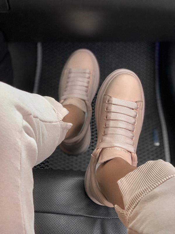 Шикарные женские кроссовки alexander mcqueen 😃 (весна лето осень) - Фото 7