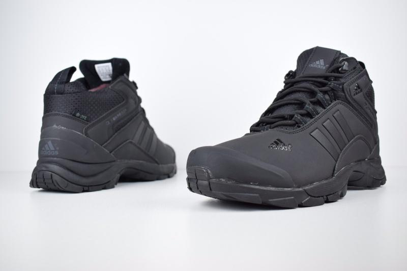 Шикарные мужские кроссовки ботинки adidas climaproof высокие ч... - Фото 4