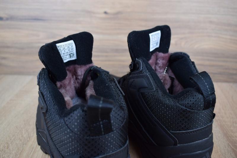 Шикарные мужские кроссовки ботинки adidas climaproof высокие ч... - Фото 5
