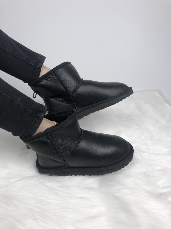 Шикарные женские сапоги угги ugg classic 2 mini black чёрные 😃...