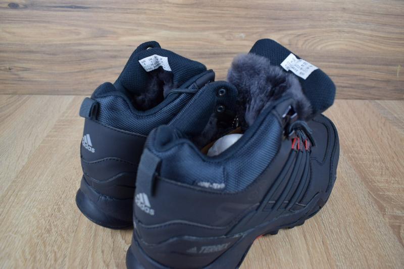 Шикарные мужские кроссовки ботинки adidas swift terrex темно с... - Фото 3