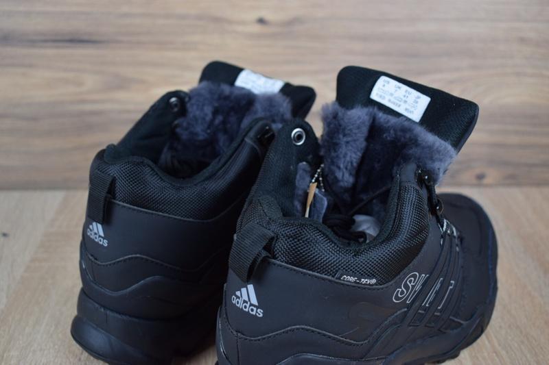 Шикарные мужские кроссовки ботинки adidas swift terrex черные😃... - Фото 4