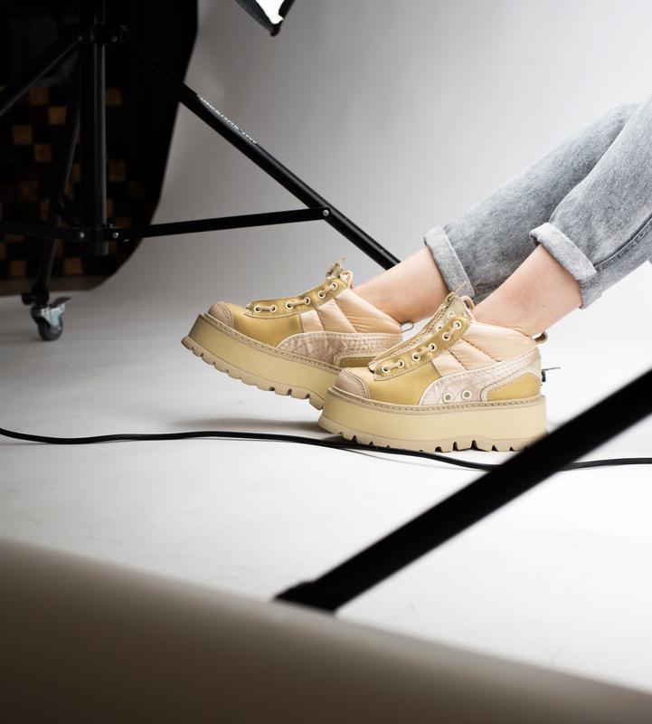 Шикарные женские кроссовки puma x fenty zipped sneaker boots 😃... - Фото 2