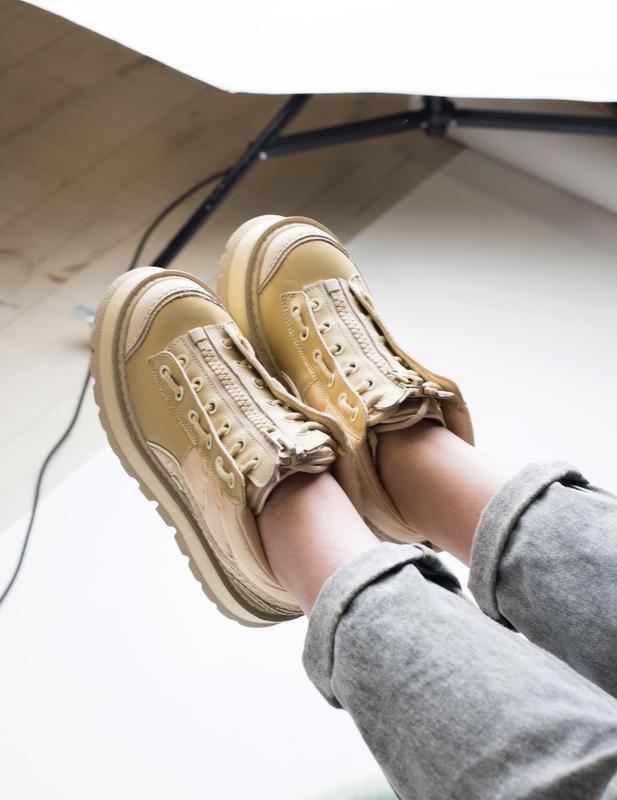 Шикарные женские кроссовки puma x fenty zipped sneaker boots 😃... - Фото 3