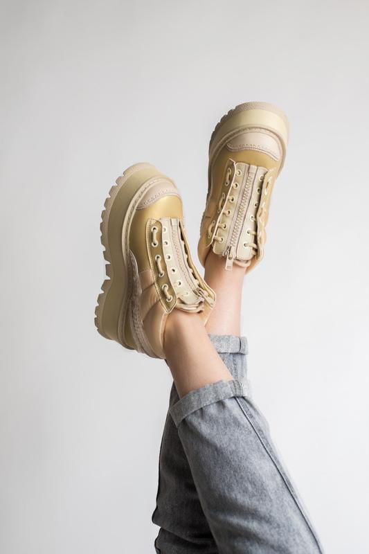 Шикарные женские кроссовки puma x fenty zipped sneaker boots 😃... - Фото 5