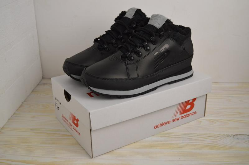 Шикарные мужские ботинки new balance 574 black чёрные😃(осень е...