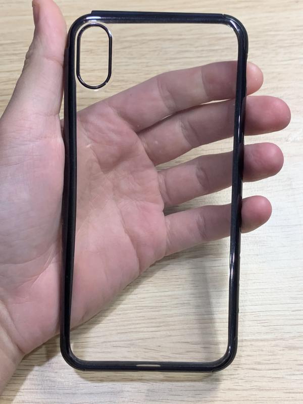 Чехол на iphone xs max прозрачный недорого