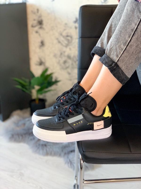 Шикарные женские кроссовки nike air force 354😃 (весна лето осень)