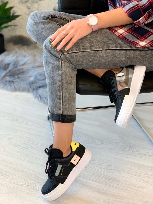 Шикарные женские кроссовки nike air force 354😃 (весна лето осень) - Фото 3