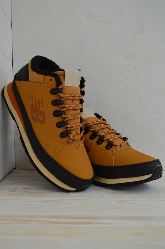 Шикарные мужские ботинки new balance 574 yellow 😃(осень евро-з...
