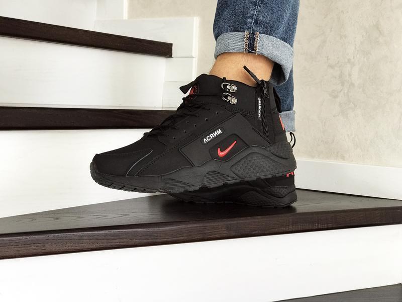 Шикарные мужские кроссовки ботинки nike huarache x acronym cit... - Фото 2