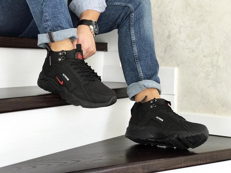 Шикарные мужские кроссовки ботинки nike huarache x acronym cit... - Фото 4