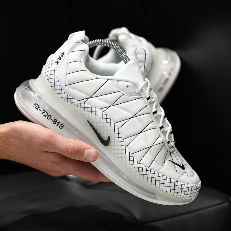 Шикарные мужские кроссовки nike air max 720 белые 😃 (осень евр...