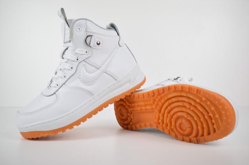 Шикарные женские кроссовки nike lunar force duckboor 1 white б...