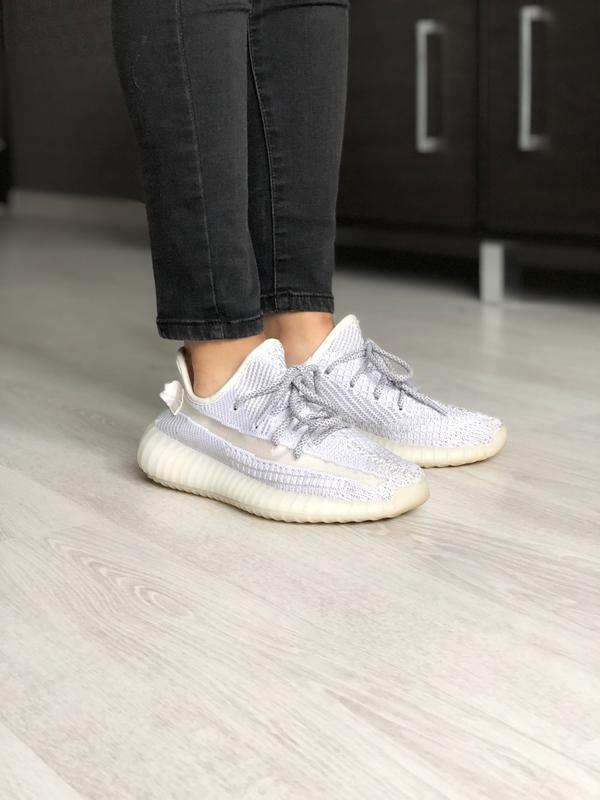 Шикарные мужские кроссовки adidas yeezy boost 350 pink рефлект...