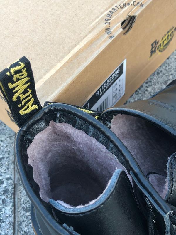Шикарные женские ботинки dr. martens 1460 black чёрные 😃 (зима) - Фото 7
