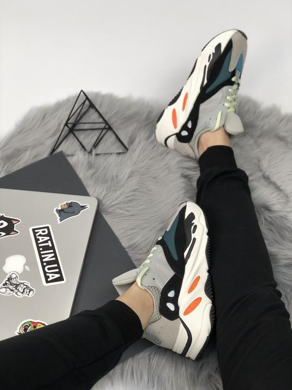 Шикарные мужские кроссовки adidas yeezy boost 700 😃 (весна лет...