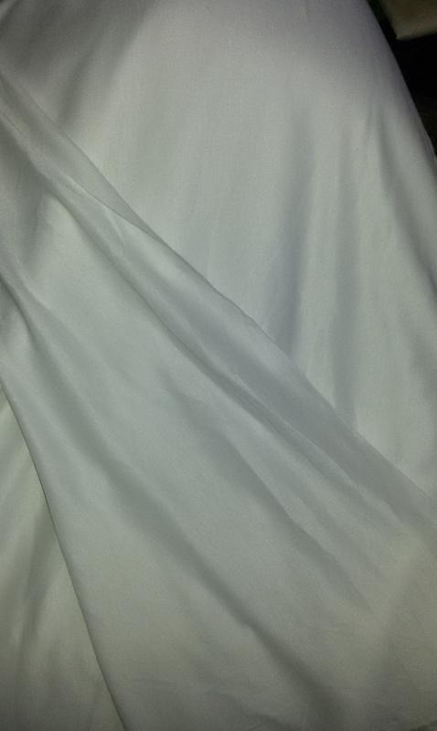 Ткань - трикотаж черный и белый - Фото 4
