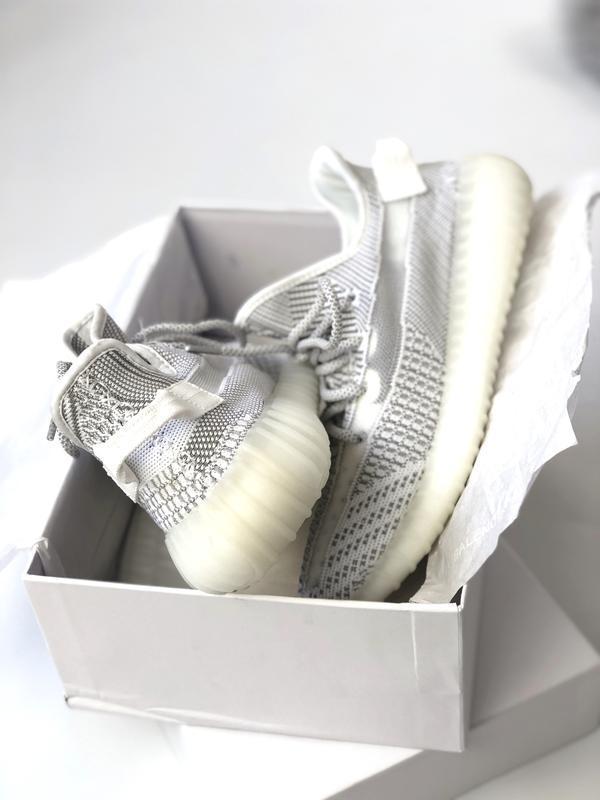 Шикарные женские кроссовки adidas yeezy boost 350 static 😃 (ве...