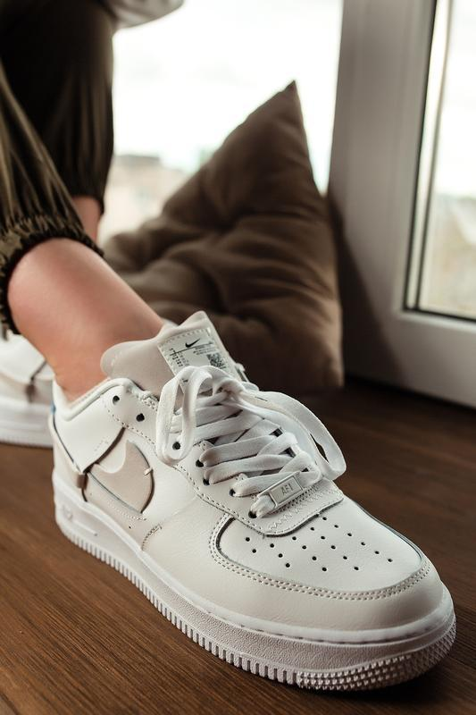Шикарные женские кроссовки nike air force 1 low white белые 😃 ...