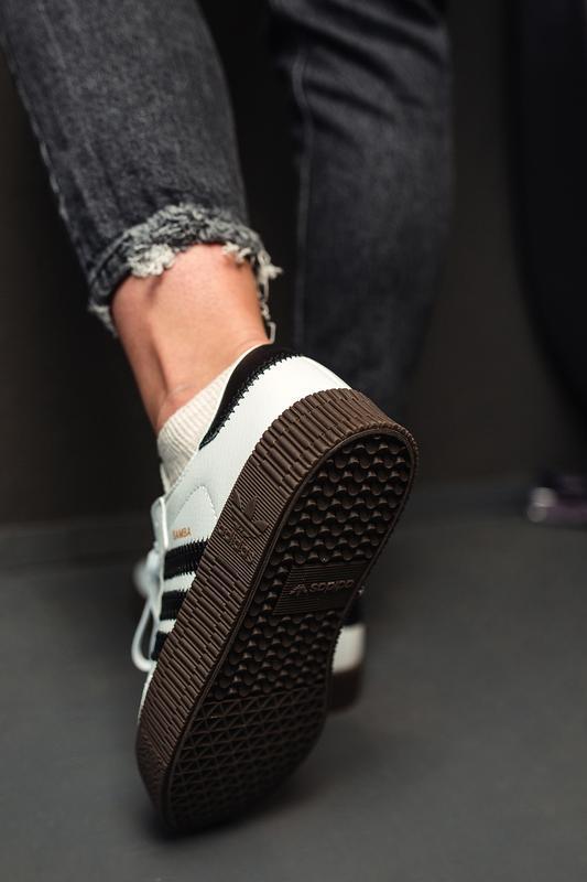 Шикарные женские кроссовки adidas samba rose w white белые😃 (в... - Фото 3