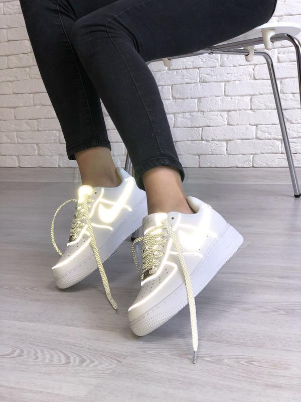 Шикарные женские кроссовки nike  air force 1 low white😃 {весна...