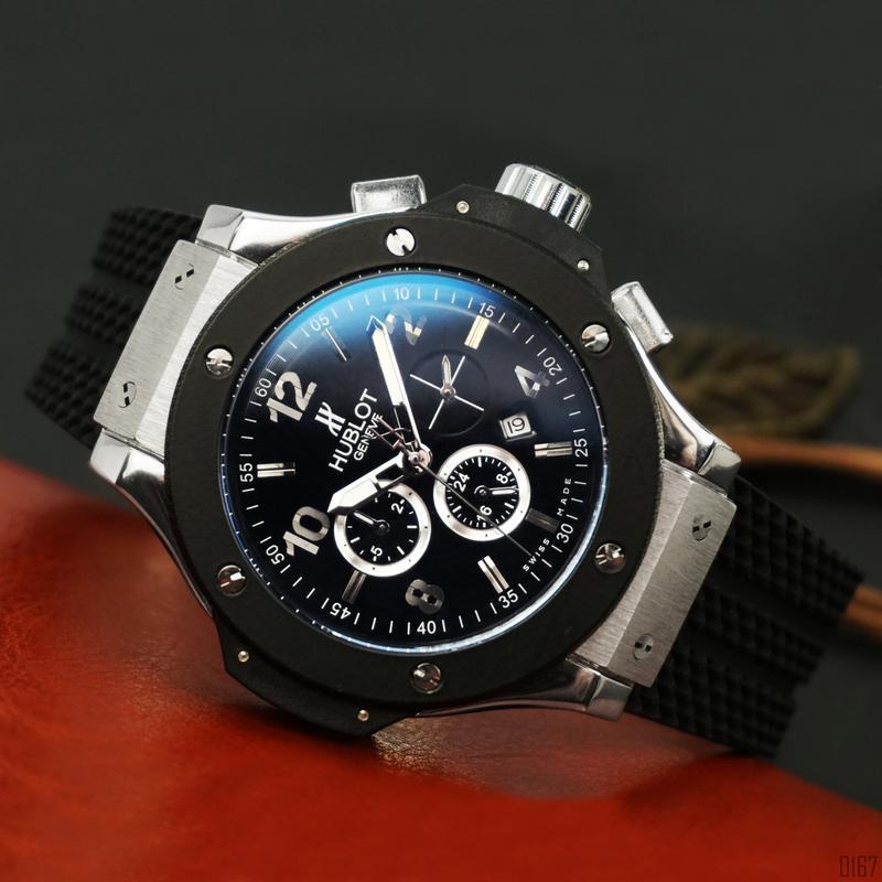 Шикарные мужские часы hublot big bang 😃