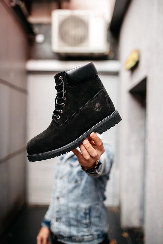 Шикарные мужские ботинки timberland boots зимние с мехом 😃 (зима)