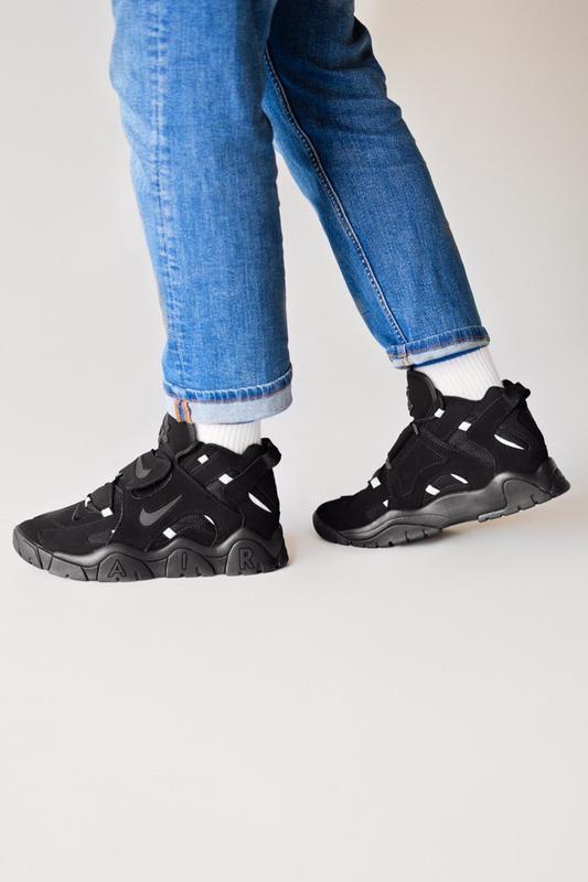 Шикарные женские кроссовки nike air hight black чёрные😃 (весна... - Фото 4
