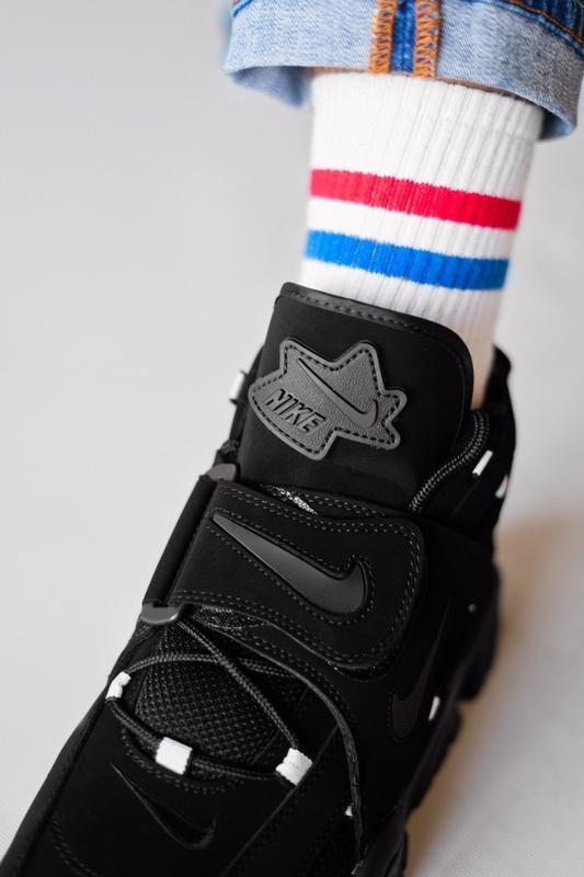Шикарные женские кроссовки nike air hight black чёрные😃 (весна... - Фото 5
