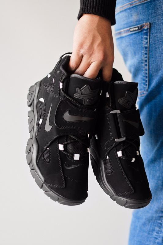 Шикарные женские кроссовки nike air hight black чёрные😃 (весна... - Фото 6