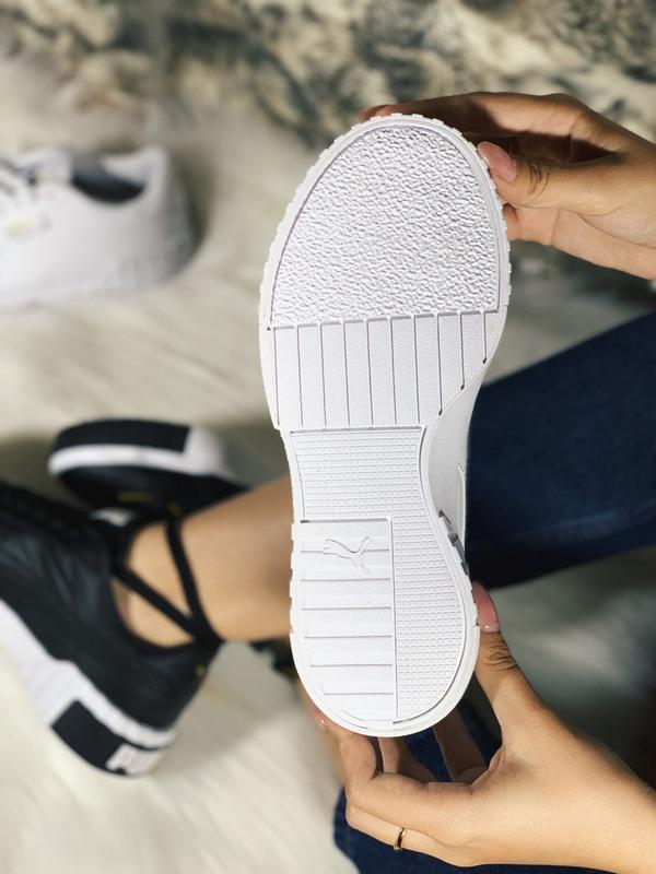 Шикарные женские кроссовки puma cali белые демисезонные 😃 {вес... - Фото 5