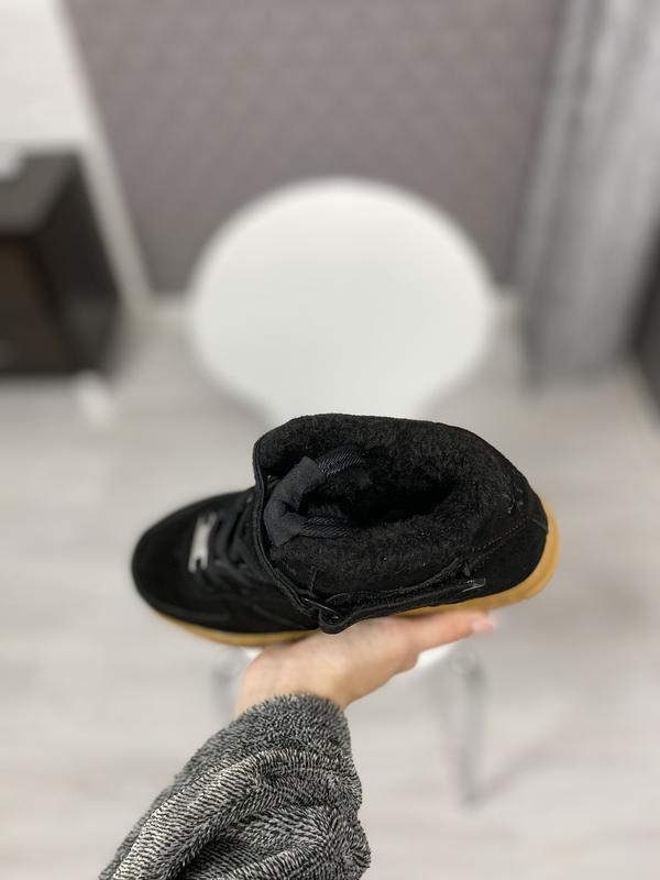 Nike air force 1 high шикарные мужские кроссовки с мехом зимни... - Фото 4