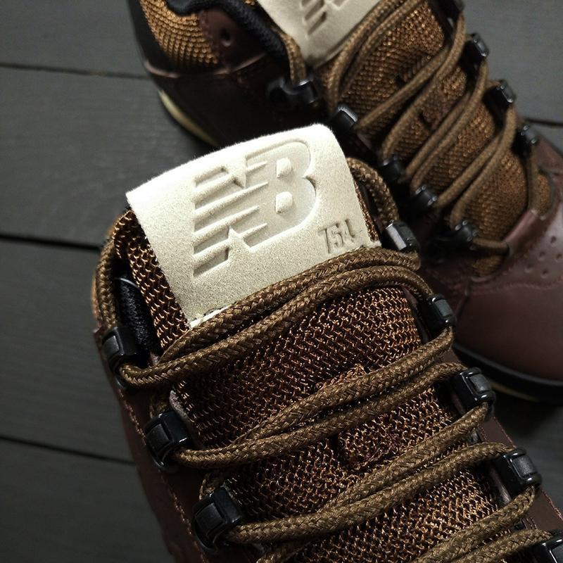 New balance 574 brown осенние шикарные мужские ботинки осень-з... - Фото 2