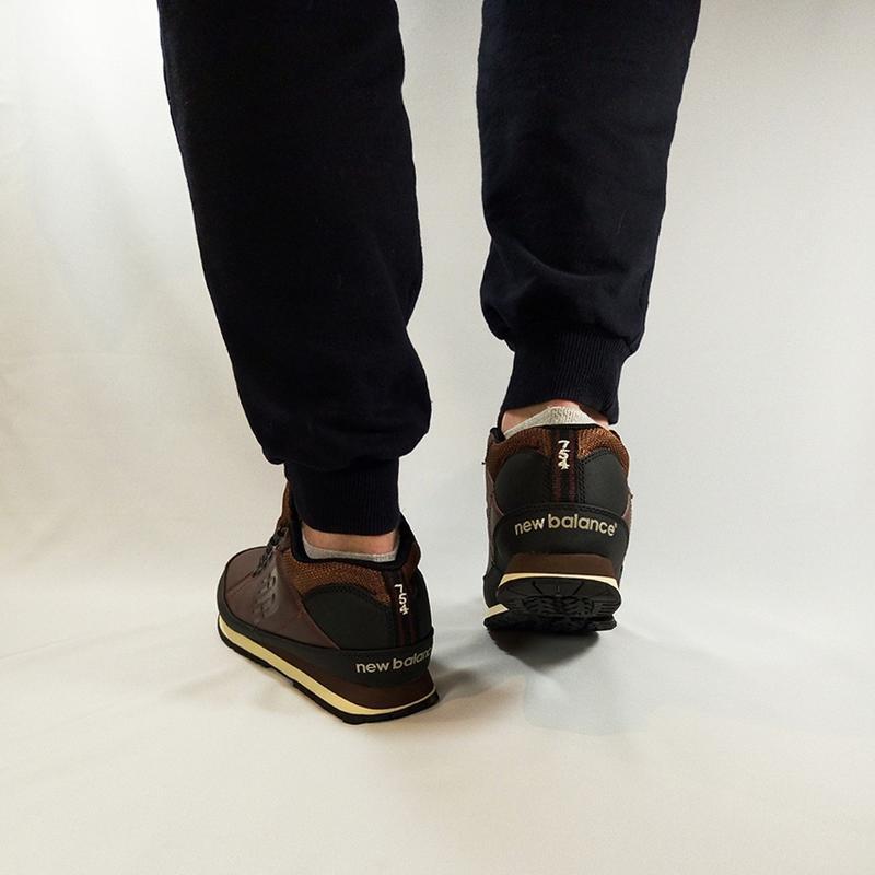 New balance 574 brown осенние шикарные мужские ботинки осень-з... - Фото 3