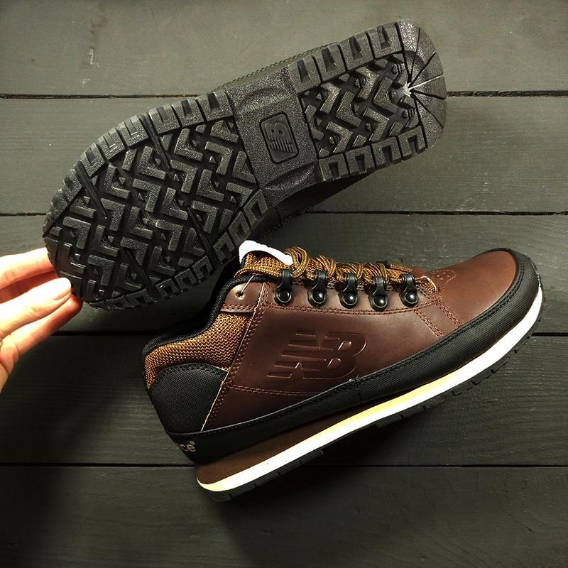 New balance 574 brown осенние шикарные мужские ботинки осень-з... - Фото 5
