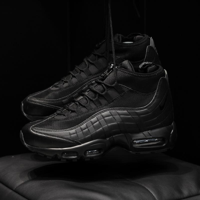 Nike air max 95 sneakrboot winter black шикарные мужские ботин... - Фото 2