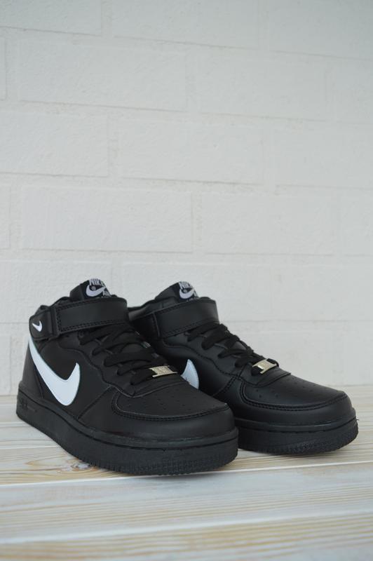 Nike air force 1 high шикарные женские кроссовки с мехом зимни... - Фото 2
