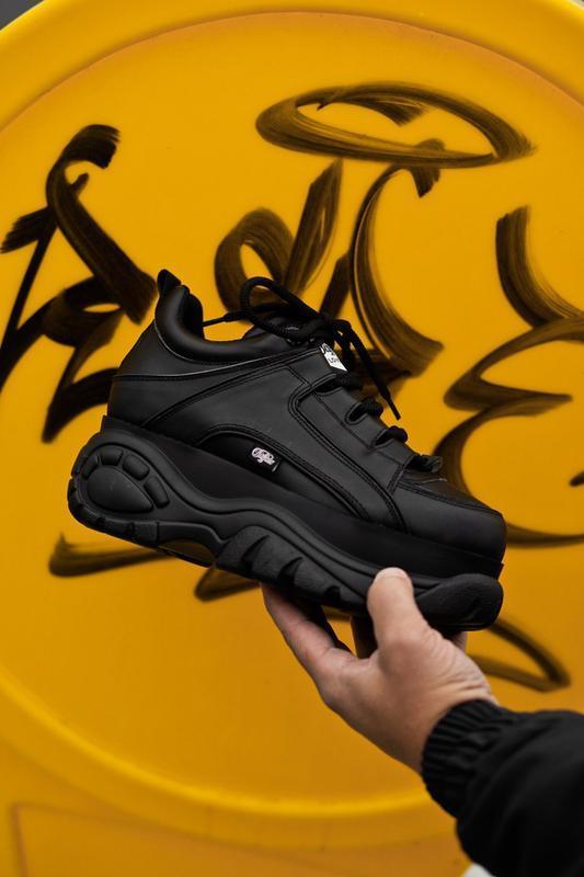 Buffalo london black шикарные женские кроссовки осень весна ле... - Фото 2