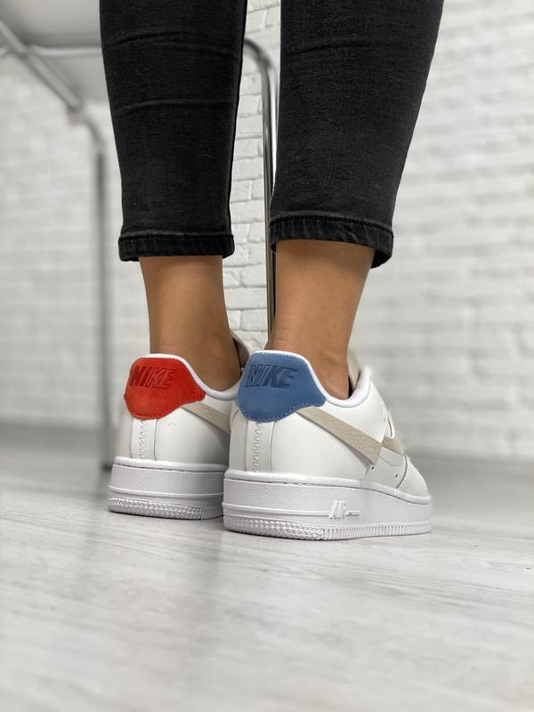 Nike air force 1 low white шикарные женские кроссовки белые цв... - Фото 2