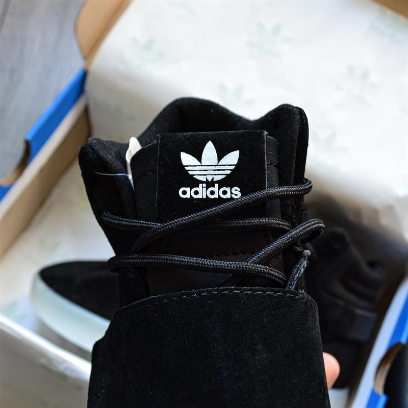 Adidas tubular invader black white шикарные мужские кроссовки ... - Фото 2