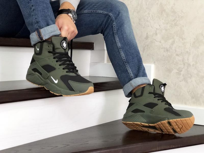 Nike huarache winter с мехом шикарные мужские ботинки с мехом ... - Фото 2