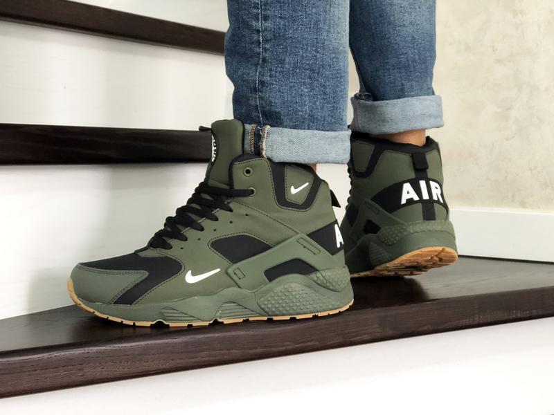 Nike huarache winter с мехом шикарные мужские ботинки с мехом ... - Фото 4