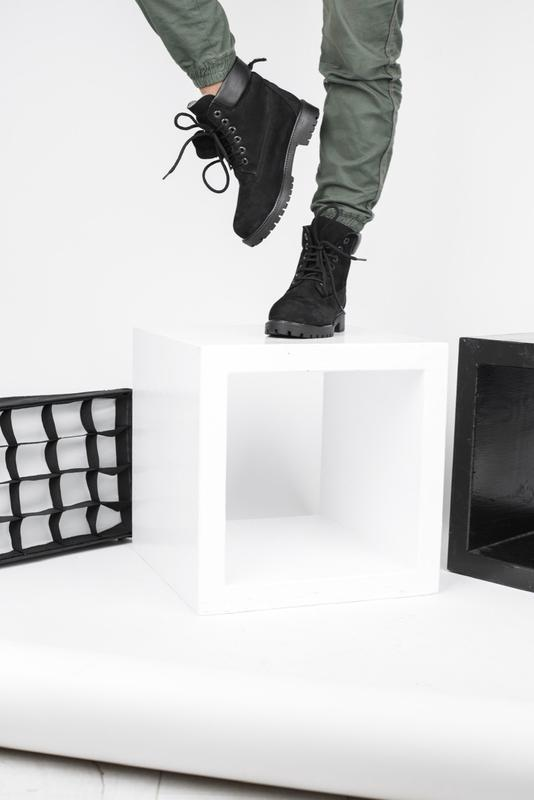 Timberland  boots black шикарные женские ботинки с мехом зимни...