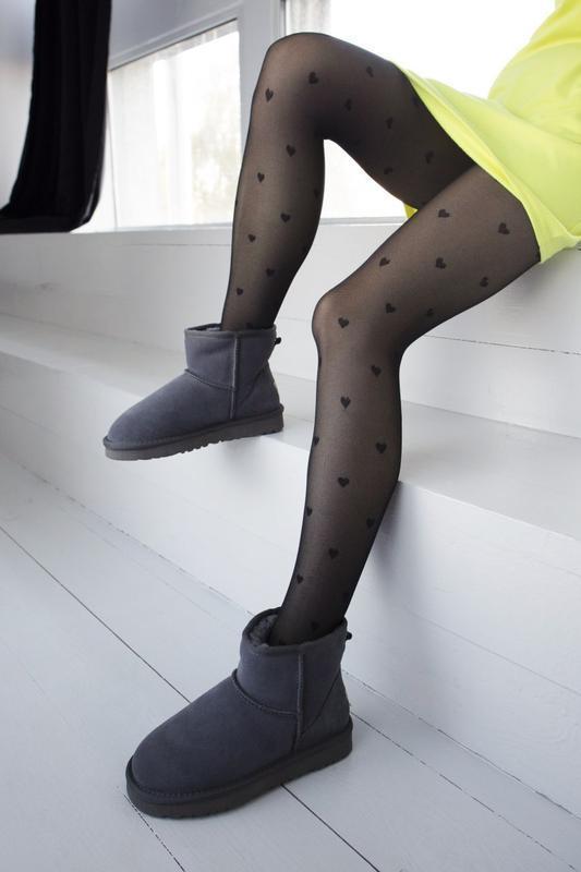 Ugg classic grey 2 mini замшевые шикарные женские сапоги угги ... - Фото 2
