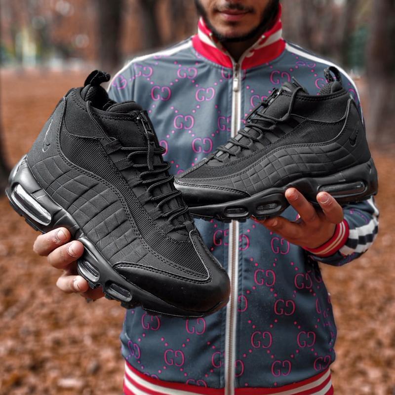 😊nike air max 95 sneakerboot winter🤗 мужские ботинки термо зимние - Фото 2