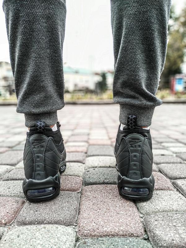 😊nike air max 95 sneakerboot winter🤗 мужские ботинки термо зимние - Фото 7